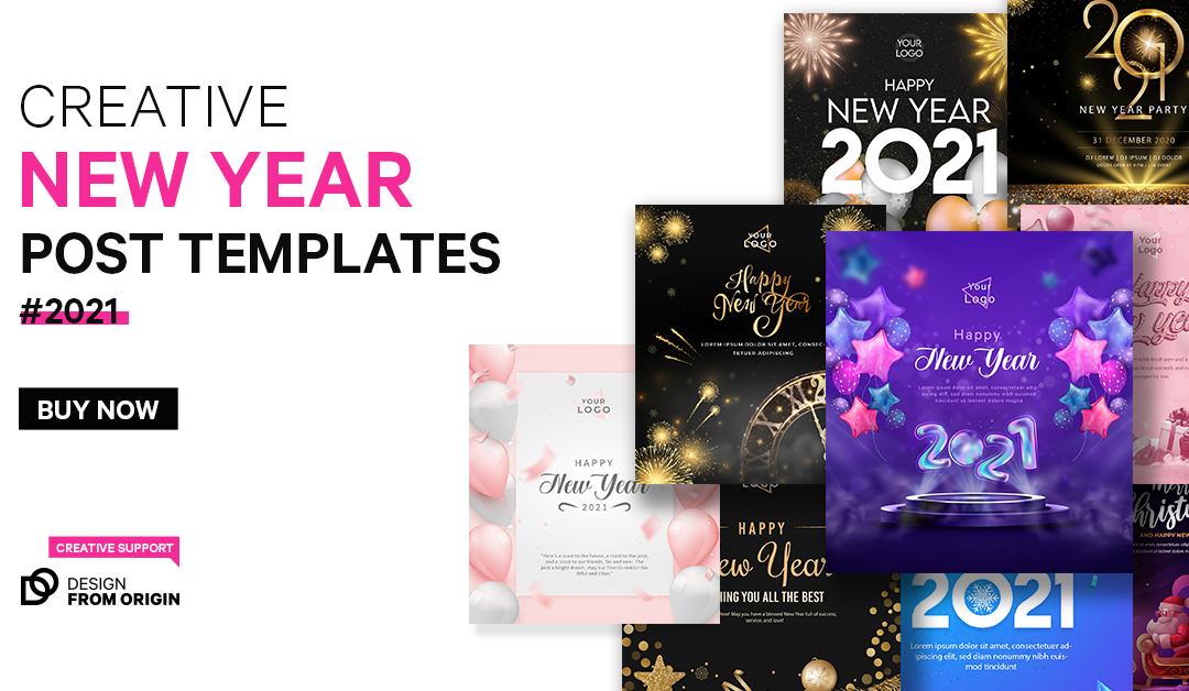 New Year Templates for Sale!